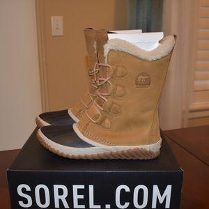 Sorel Tall Plus Faux Fur Lining Waterproof Boots